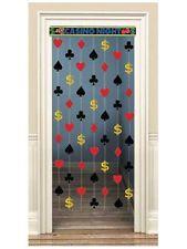 Las Vegas Casino Themed Party Hanging Door Decoration