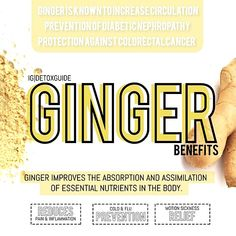 Benefits of #Ginger