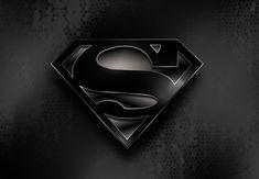 Superman Soft Black by Wayanoru on DeviantArt Superman Wallpaper, Amai, Man Of Steel, Anime Comics, Superhero Logos, Wall Papers, Smallville, Deviantart, Logan