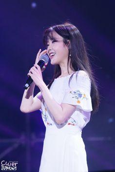 아이유 Goodday in Guangzhou by. Iu Fashion, Korean Celebrities, Cute Korean, Korean Outfits, Korean Singer, Idol, Actresses, Concert, Guangzhou