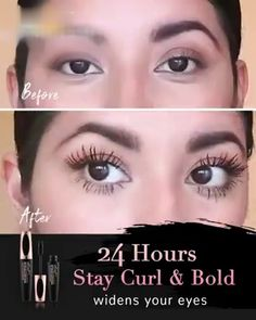 Silk Fiber Mascara - All For Hairstyles Fancy Makeup, Diy Makeup, Makeup Inspo, Makeup Looks, Beauty Makeup Tips, Beauty Skin, Beauty Hacks, Fiber Mascara, Maquillage Halloween