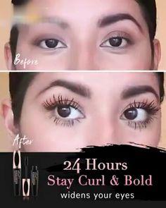 Silk Fiber Mascara - All For Hairstyles Fancy Makeup, Diy Makeup, Makeup Inspo, Makeup Looks, Beauty Makeup Tips, Beauty Skin, Beauty Hacks, Fiber Mascara, Maquillage Halloween