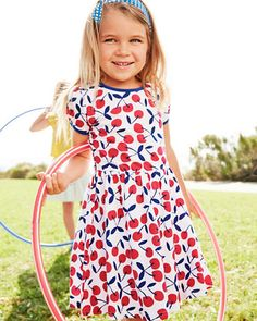 Knit Party Dress - Girls