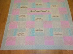 What Cancer Cannot do Lap quilts by prazequilts on Etsy, $65.00 ... : cancer quilts for sale - Adamdwight.com