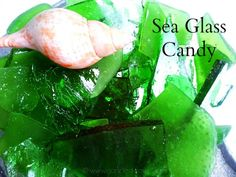 Sea Glass Candy - the prettiest candy you'll ever make!  from Canned-Time.com