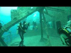 Underwater photography exhibit.