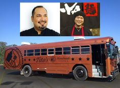 AUSTIN & SAN ANTONIO Take a Ride on the Tito's bus this week with Jesse Perez & Tatsu Aikawa | in partnership with Austin FOOD & WINE Festival | APRIL 25-27, 2014 – AUSTIN, TX Ticket info in the link