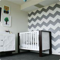 Designer Living Chevron Wallpaper
