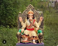 Ganesha as shivajimaharaj Ganesh Images, Ganesha Pictures, Shiva Art, Ganesha Art, Ganesh Lord, Lord Shiva, Krishna Tattoo, Ganpati Bappa Wallpapers, Shiva Photos