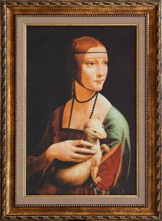 Леонардо да Винчи-Дамата с Хермелина-Леонардо да Винчи