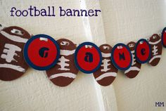 Def doing this Football Banner!