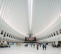 Image 1 of 24 from gallery of World Trade Center Transportation Hub  / Santiago Calatrava. Photograph by Imagen Subliminal