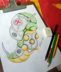 Pokérobots - Caterpie