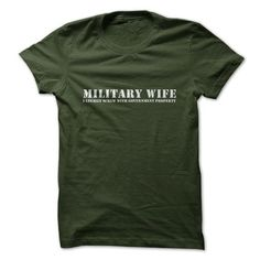 Military Wife T Shirts, Hoodies. Get it here ==► https://www.sunfrog.com/Jobs/Military-Wife-ladies.html?41382