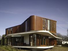 The Villa Nefkens in Wageningen, The Netherlands by Mecanoo Architects