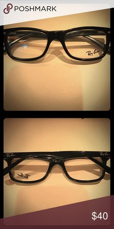 77cba8da9a Ray Ban Black Wayferer Eyeglasses Ray Ban Black Wayferer Eyeglasses. 100%  authentic. Comes