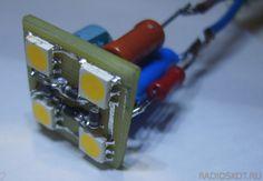 КАК СДЕЛАТЬ СВЕТОДИОДНУЮ ЛАМПУ в ночник Electrical Circuit Diagram, Luz Led, Diy Electronics, Led Lamp, Arduino, Raspberry, Projects To Try, Office Supplies, Technology