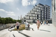 114 Public Housing Units,  Barcelona, Spain / Sauquet Arquitectes i Associats