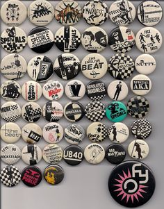 I was a cool ska / rude girl. Dr. Martens, Ska Music, Ska Punk, Back In The 90s, Rude Boy, Northern Soul, Skinhead, Youth Culture, Button Badge