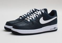 Nike Air Force 1 Low – Armory Navy – White