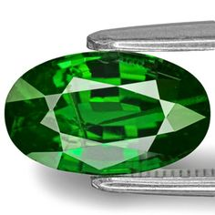 2.59-Carat Unique Rich Chrome Green Kenyan Tsavorite Garnet