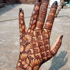 Henna Designs Arm, Pretty Henna Designs, Indian Henna Designs, Basic Mehndi Designs, Henna Tattoo Designs Simple, Back Hand Mehndi Designs, Latest Bridal Mehndi Designs, Stylish Mehndi Designs, Mehndi Designs For Girls