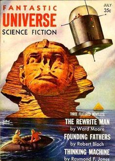 Adventures in Science Fiction Cover Art: Pyramids (spaceships + future…