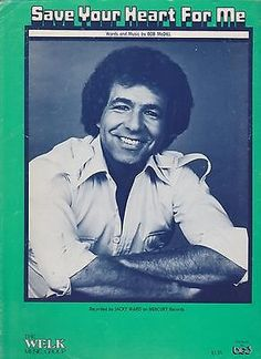 Sheet Music 1979 Save Your Heart For Me Jacky Ward 81