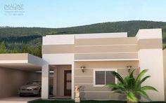 Resultado de imagem para fachada de casas pequenas