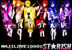 UtaPri ~~ Fantastic art based on the ED animation! 1000% STARISH!