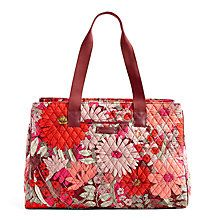 Keep Charged Triple Compartment Bag in Kiev Paisley with Black | Vera Bradley