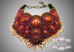 Collar Condesa Necklace One of a kind by SigiContreras on Etsy, $615.00