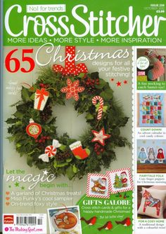 Buy CrossStitcher, October 2012 on our Newsstand or get the subscription to the digital magazine and read it anywhere, anytime. Cross Stitch Tree, Cross Stitch Books, Just Cross Stitch, Cross Stitch Cards, Beaded Cross Stitch, Cross Stitching, Cross Stitch Embroidery, Christmas Books, Christmas Angels