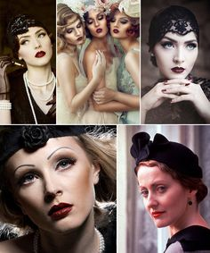 Vintage Makeup Through The Decades