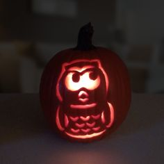 Have the perfect pumpkin, but not sure what—or whooo—to carve into it? We have an idea (and can't help but think it's a hoot). Click for the free VM344 owl baby monitor stencil!