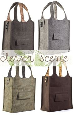 Amazing reuse for old or thrift store suit coats!