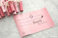 ... in the fun lane: Wren's Birthday Invitations Printable