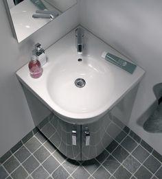 Eckwaschbecken mit unterschrank  7 besten Eckwaschtisch Bilder auf Pinterest | Badezimmer ...