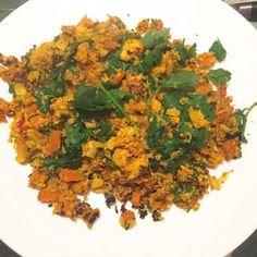 #Sirtfood Diet Update and Recipe — Spiced Chicken Cauliflower Couscous