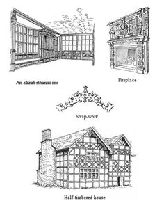 tudor architecture diagram | architectural drawings | pinterest