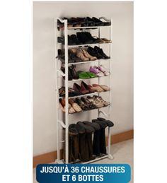Etagère range chaussures et bottes Shoes Valet: $26.95€