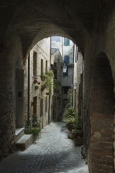 | ♕ |Ancient passage - Torre di Palme, Italy