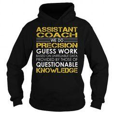 Assistant Coach Job Title T Shirts, Hoodies. Get it now ==► https://www.sunfrog.com/Jobs/Assistant-Coach-Job-Title-Black-Hoodie.html?57074 $36.99