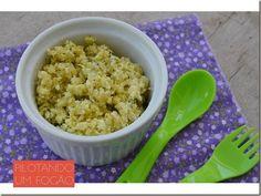 Experimente essa massinha com ricota e brócolis que além de saudável, ainda é gostosa e diferente das papinhas tradicionais.