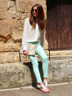 Sweet pastel outfit ideas