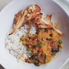 Curried Red-Lentil Stew with Vegetables