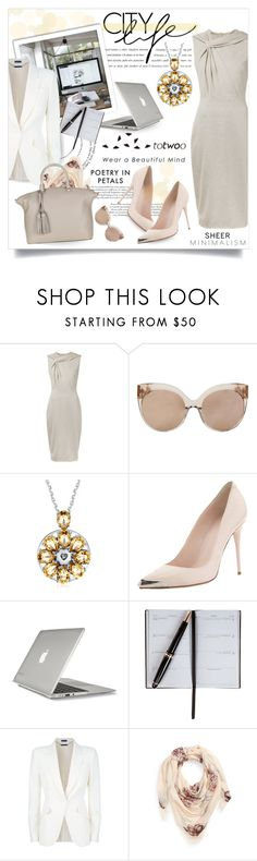 """""""Totwoo at Office"""" by violetta-valery ❤ liked on Polyvore featuring Jason Wu, Linda Farrow, Alexander McQueen, Speck, Smythson and Tory Burch"""