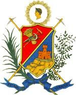 COA of Yaracuy state, Venezuela, is one of the 23 states of thr country. It is bordered by Falcón in the north, in the west by Lara, in the south by Portuguesa and Cojedes and in the east by Cojedes and Carabobo. Its geography is mountainous: the Andes range ends there, and the Coastal Range begins.