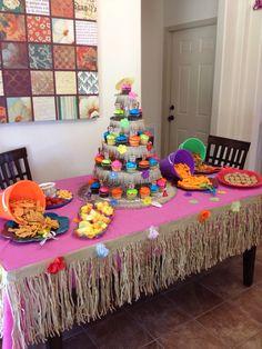 Luau birthday party