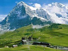 Kleine-Scheidegg-Switzerland